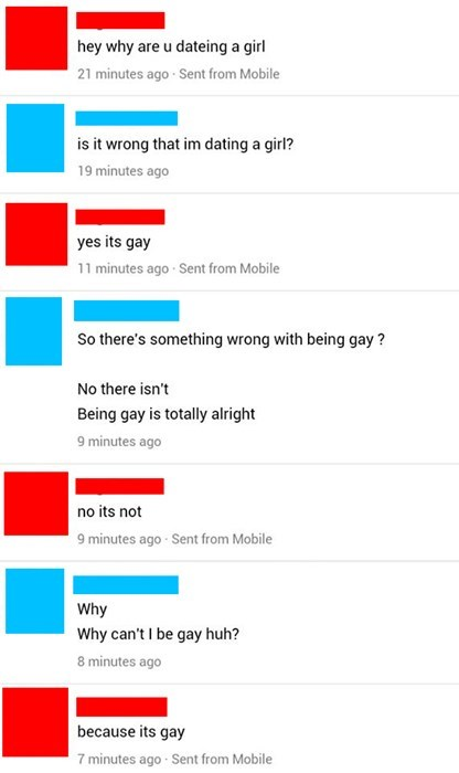 being gay is gay